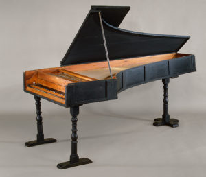 Working Title/Artist: Grand Piano, maker: Bartolomeo Christofori.  Florence., 1720 Department: Musical Instruments Culture/Period/Location:  HB/TOA Date Code: 09 Working Date:  Scanned for Collections